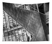 Denver Diagonals Bw Tapestry
