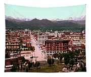 Denver Panorama 1897 Tapestry