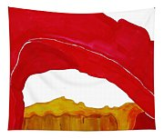 Desert Arch Original Painting Sold Tapestry