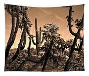 Desert At Dusk Tapestry