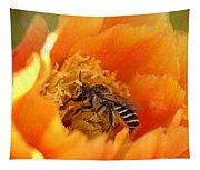 Desert Bee Tapestry
