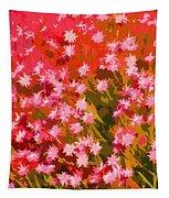 Desert Broom Abstract  Tapestry