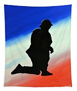 Desert Duty II Tapestry