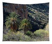 Desert Palms Tapestry
