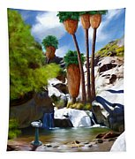 Desert Paradise Tapestry