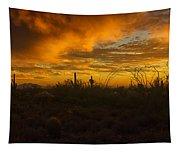 Desert Southwest Skies  Tapestry