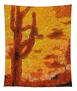Desert Sunset Photo Art 04 Tapestry