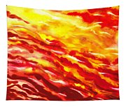 Desert Wind Abstract I Tapestry