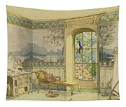Design For A Bathroom, From Interieurs Tapestry