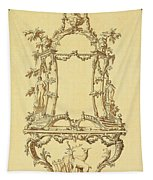 Design For A Console Table Tapestry