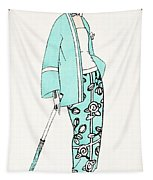 Design For A Day Dress C 1919 Tapestry