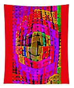Designer Phone Case Art Colorful Rich Bold Abstracts Cell Phone Covers Carole Spandau Cbs Art 138 Tapestry