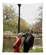 Destination Wedding-m And D-6 Tapestry