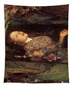 Detail From Ophelia Tapestry