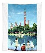 Detroit - Gladwin Waterworks Park - Jefferson Avenue At The Detroit River - 1905 Tapestry