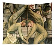 Detroit Industry  South Wall Tapestry