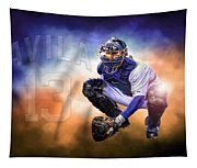 Detroit Tiger Alex Avila Tapestry