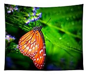 Dewdrop Butterfly Tapestry