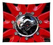 Diablo Wheel Hub Tapestry
