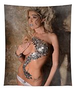 Diamond Girl Tapestry