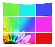 Diffraction Of Light Tapestry