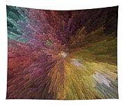 Digital Crystal Art Tapestry