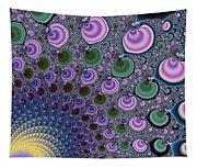 Digital Fractal Artwork Beautiful Colors Tapestry