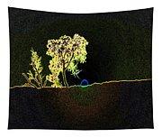Digital Sunset Tapestry