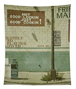 Diner Rules Tapestry by Andrew Paranavitana