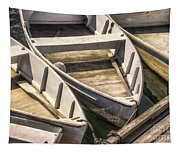 Dinghies Dockside Faded Tapestry