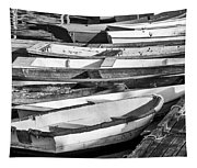 Dinghies - Perkins Cove Maine Tapestry