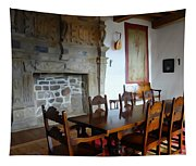 Dining At Donegal Castle Tapestry