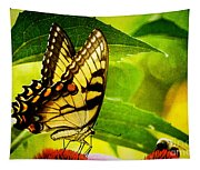Dining With A Friend Tapestry