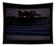 Dinner At The Pier Tapestry