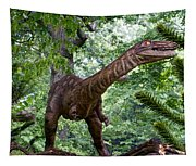 Dino In The Bronx Three Tapestry