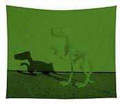Dino Olive Tapestry