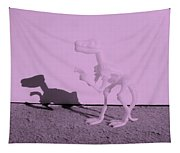 Dino Pink Tapestry