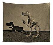Dino Sepia Dark Tapestry