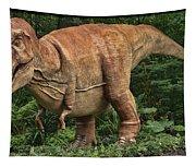 Dinosaur In The Bronx Tapestry