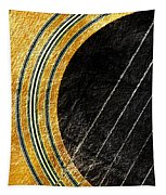 Diptych Wall Art - Macro - Gold Section 1 Of 2 - Vikings Colors - Music - Abstract Tapestry