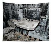 Dirty Bathroom Tapestry