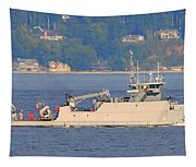 Discovery Bay Military Ops Ship Tapestry
