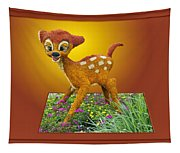 Disney Floral 03 Bambi Tapestry
