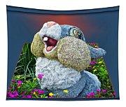 Disney Floral 05 Thumper Blue Tapestry