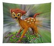 Disney Floral Bambi Tapestry