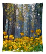 Distorted Dreams By Day Tapestry