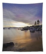 Divers Cove At Sand Harbor Tapestry