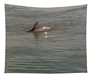 Diving Dolphin Tapestry