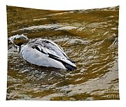 Diving Duck Tapestry