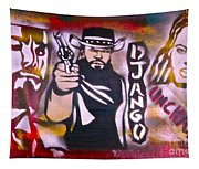 Django Blood Red Tapestry